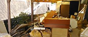 建築廃材の回収